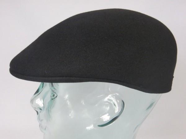 Origi. BORSALINO Sportmütze Filzmütze Cap Mütze schwarz Golfcap Hut Haarfilz Neu