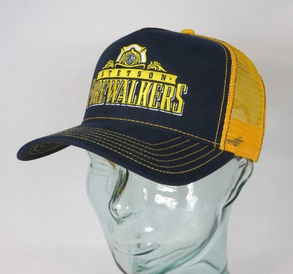 STETSON Trucker Cap Mesh Netz Kappe BASECAP SNAPBACK 7756108 Firewalkers NEU