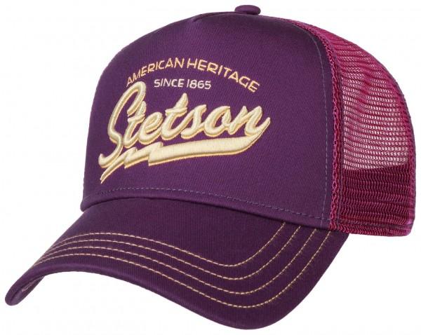 STETSON Trucker Cap Mesh Netz Kappe Base American Heritage 7751171 Neu