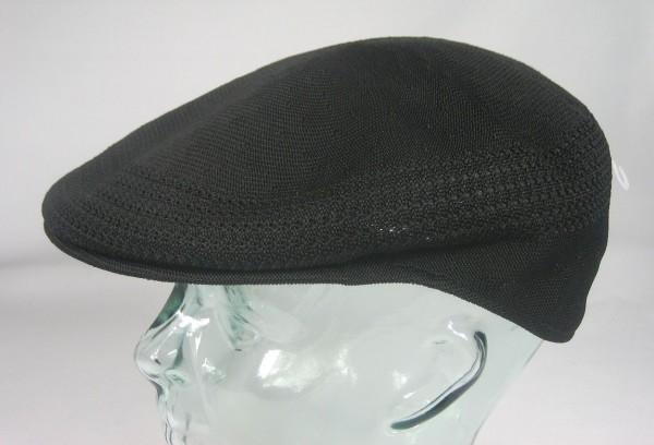 KANGOL TROPIC VENTAIR Flatcap 504 Cap Schwarz Mütze Kangolmütze Kangolcap NEU