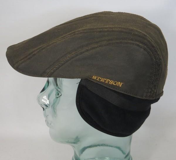 STETSON Madison Flatcap mit Ohrenklappen Earflaps Ivy Cap Mütze 6161106 Neu