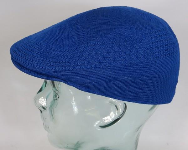 KANGOL TROPIC VENTAIR 507 Flatcap royal blau Mütze Ivy Cap Sommermütze Gatsby NEU