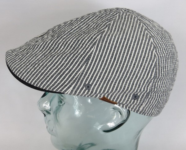KANGOL Pattern Flexfit Flatcap Ivy Cap Mütze Gatsby Sommermütze Seersucker Neu