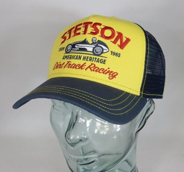 STETSON Trucker Mesh Cap Netz Kappe BASECAP SNAPBACK Sommermütze 7751154 NEU