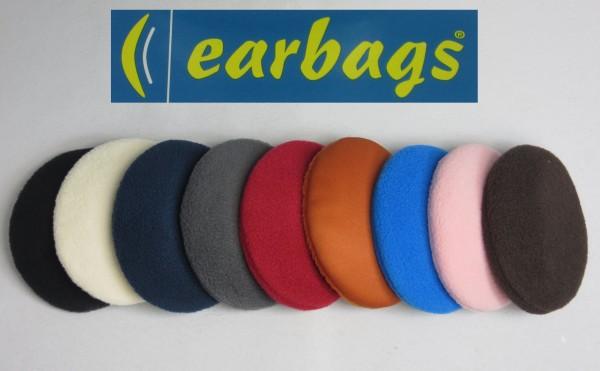 EARBAGS Ohrwärmer Ohrenschützer Earbag Earmuffs Fleece 10 Farben Größe M Neu