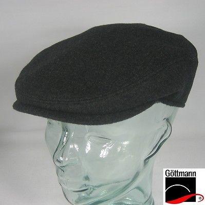 GÖTTMANN GLASGOW Sportmütze Flatcap Anthrazit Mütze Kappe Schirmmütze NEU