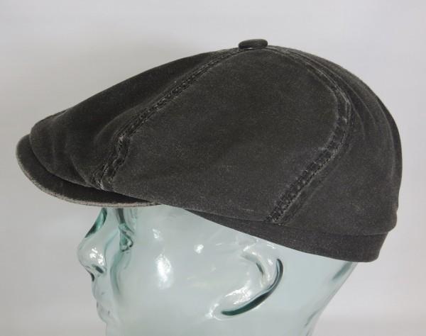 STETSON BROOKLIN co/pe Mütze Kappe Flatcap 6-Panel Cap Schiebermütze 6641116 NEU