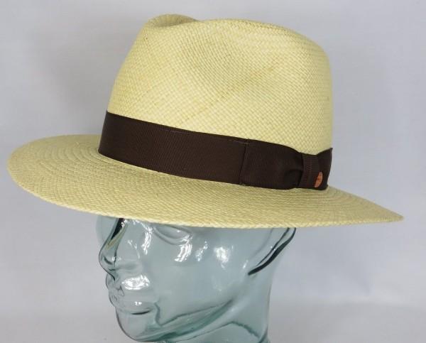 MAYSER Panamahut MENTON Strohhut Panama Hut natur Wasserabweisend UV Protect Neu