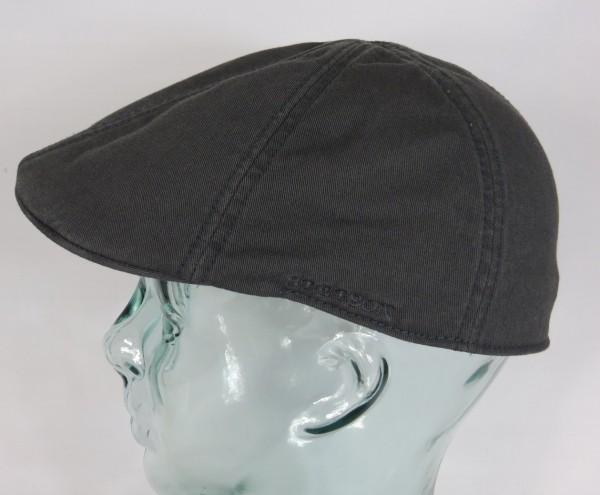 STETSON TEXAS Flatcap Mütze Ivy Cap Cotton Baumwolle Gatsby 6611105 grau NEU