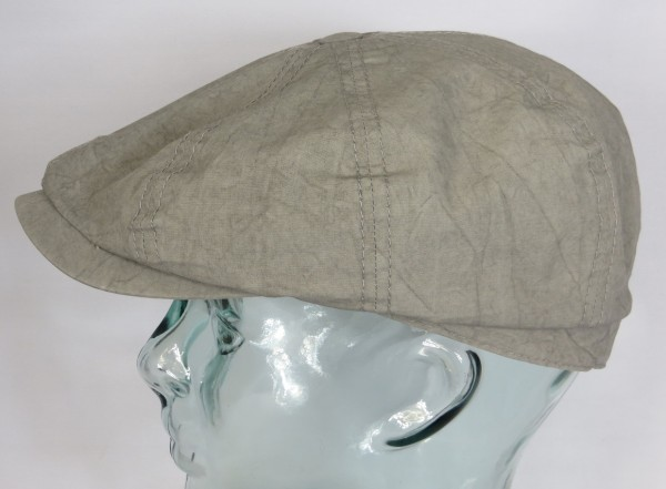 STETSON HATTERAS Baumwolle Mütze Kappe Flatcap Cap Schiebermütze Sommermütze NEU