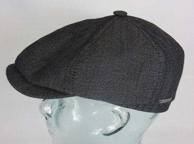 STETSON 6-Panel Cap Mütze Flatcap Schiebermütze Ballonmütze 6650101 Brooklin NEU