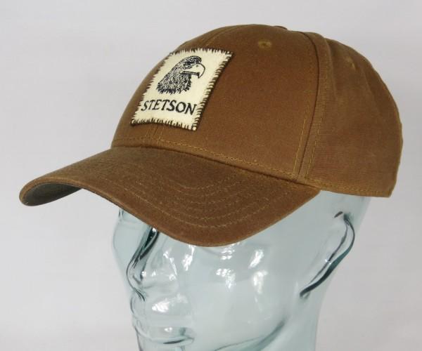 STETSON Baseball Cap Waxed Cotton Outdoor Mütze gewachst Basecap Kappe 7721113 Neu