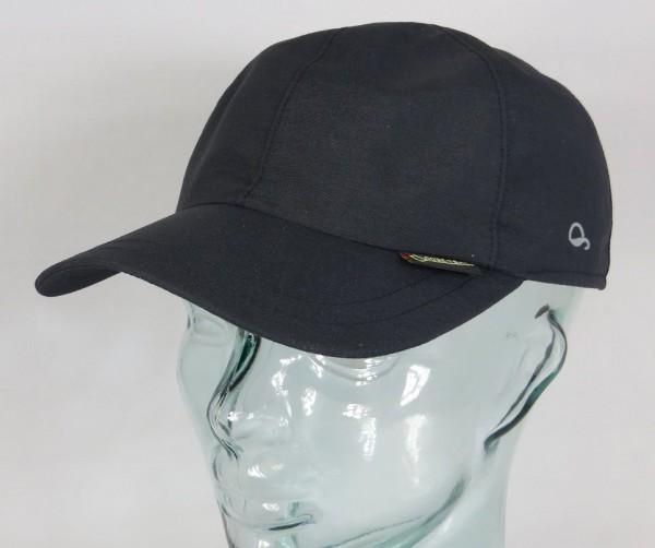 GÖTTMANN MONACO GORE-TEX Mütze Basecap Baseball Cap schwarz UVSchutz Goretex NEU