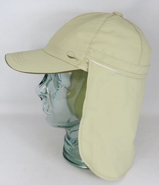Göttmann Dakar Mütze mit Nackenschutz Cap Kappe Basecap beige UV Schutz NEU