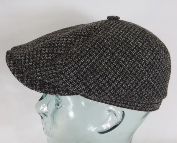 STETSON 6-Panel Cap Mütze Flatcap Schiebermütze Brooklin Cross 6640801 NEU
