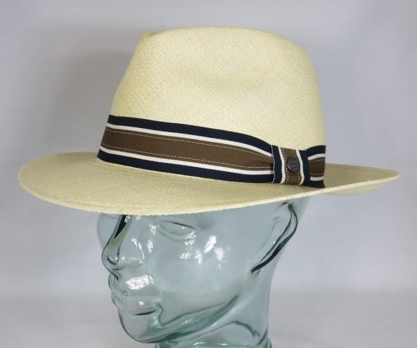 VINTIMILLA Panama Hut Strohhut Sol Sonnen Stroh Hat UV Schutz 50+ Fedora Bogart Neu