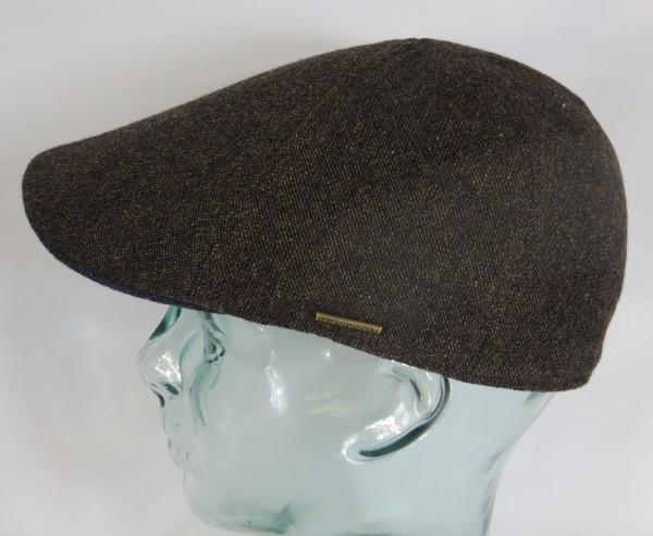 STETSON TEXAS Wool Flatcap Mütze Ivy Cap Wintermütze Gatsby 6610106 braun Neu