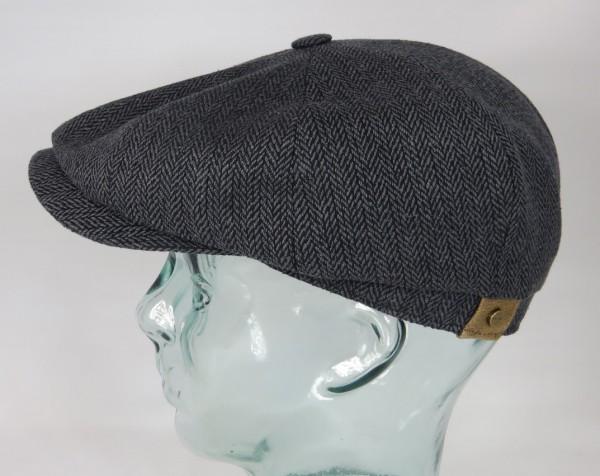 STETSON HATTERAS SILK Flatcap Seide Cap Mütze Schiebermütze Bakerboy 333 NEU
