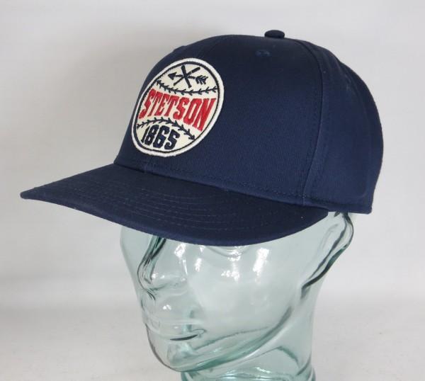 STETSON Baseball Cap Kappe BASECAP Mütze SNAPBACK blau Schildmütze 7781103 NEU