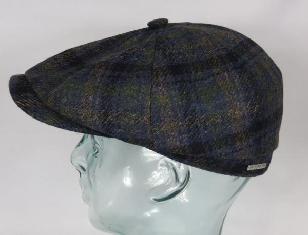 STETSON HATTERAS Wool Mütze Flatcap Schiebermütze Cap Kappe Wintermütze 6840315 NEU