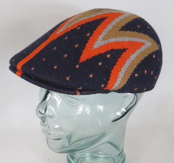 KANGOL Shock Wave 507 Flatcap Ivy Cap Golfcap Gatsby Mütze blau NEU