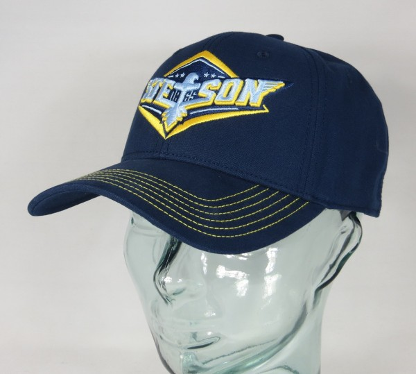 STETSON Baseball Cap Eagle Kappe BASECAP Trucker Mütze SNAPBACK 7721109 blau NEU