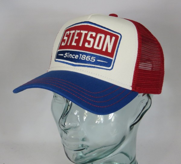 STETSON Trucker Mesh Cap Netz Kappe BASECAP SNAPBACK Gasoline 7751107 NEU