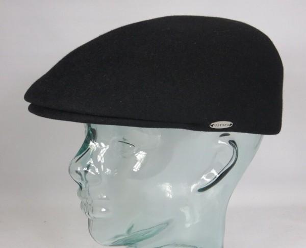 MAYSER Sportmütze Filzmütze Haarfilz Filzcap Mütze Schwarz Schirmmütze Cap Hut