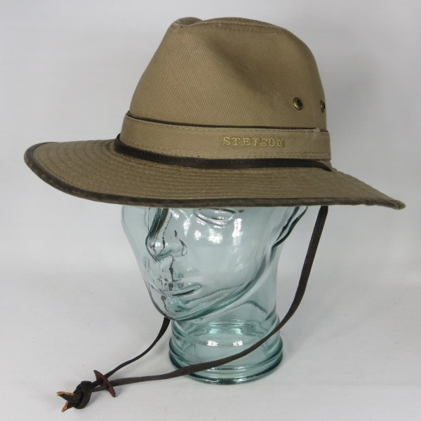 STETSON Traveller Hut Trekking Outdoor Trecking Hat Baumwolle 2591101 Neu