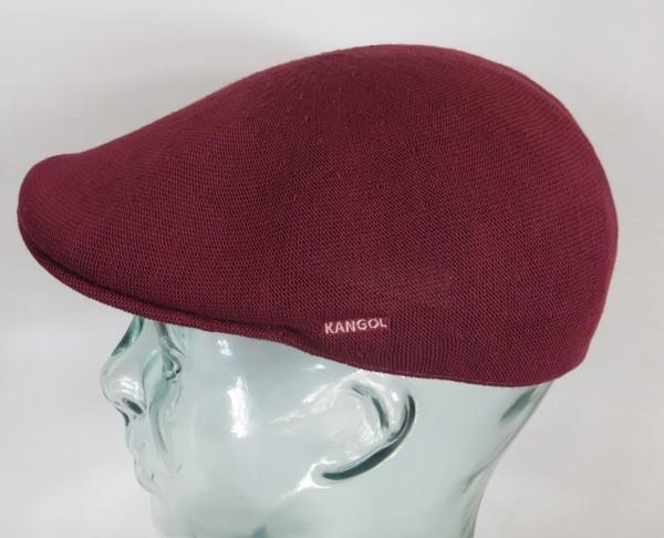 KANGOL BAMBOO 507 Flatcap weinrot Mütze Ivy Cap Sommermütze Gatsby NEU
