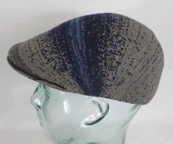 KANGOL Distressed Morse 507 Flatcap Cap Kangolcap Golfcap Gatsby Mütze grau NEU