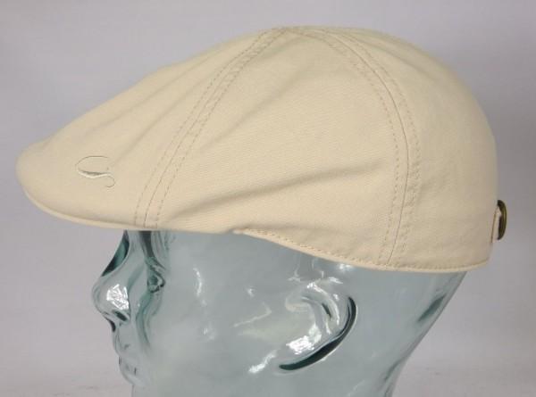 GÖTTMANN ALABAMA Flatcap Ivy Cap Mütze beige Gatsby Sommermütze Baumwolle Neu