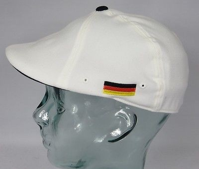 KANGOL NATIONS 504 FLATCAP Flexfit Cap Mütze Deutschland Sommermütze S/M Neu