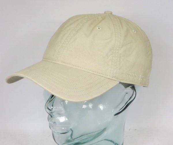 STETSON DUCOR Organic Cotton Basecap Mütze Kappe Sommermütze Cap UV Schutz NEU