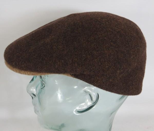 KANGOL WOOL 504-S Flatcap braun Wolle Mütze Cap Pepe Kangolmütze Kangolcap Neu