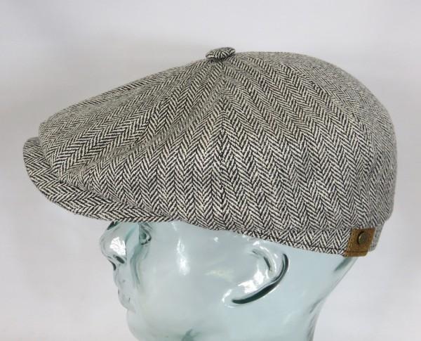 STETSON HATTERAS SILK Flatcap Seide Cap Mütze Schiebermütze Bakerboy 310 NEU