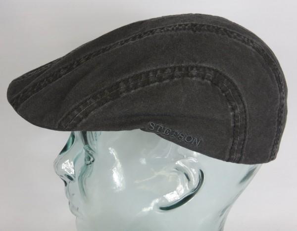 STETSON MADISON Organic Cotton Flatcap Ivy Cap Mütze Baumwolle grau 6121103 NEU