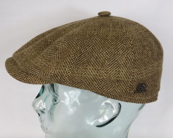STETSON KENNETT Woolrich 6-Panel Cap Mütze Flatcap Schiebermütze 6650502 NEU