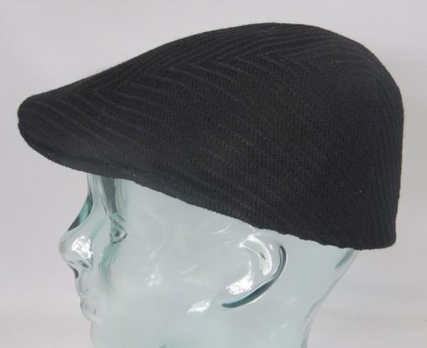 KANGOL INSIGNIA 507 Flatcap Mütze Ivy Cap Kangolcap Golfcap Gatsby schwarz NEU