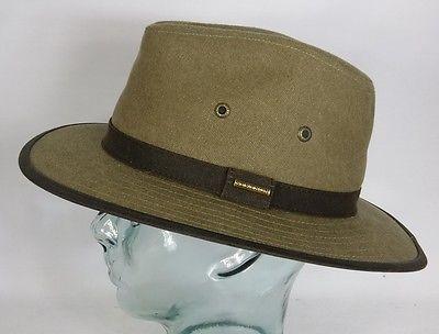 STETSON Traveller Hut Trekking Outdoor Trecking Hat Baumwolle Neu 2541122