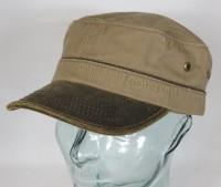 46f5a9c3dbf1b0 STETSON Army Cap Kuba Mütze Baumwolle Basecap braun Schirmmütze 7491101 Neu    Armycap   Mützen   Huthaus Streibich