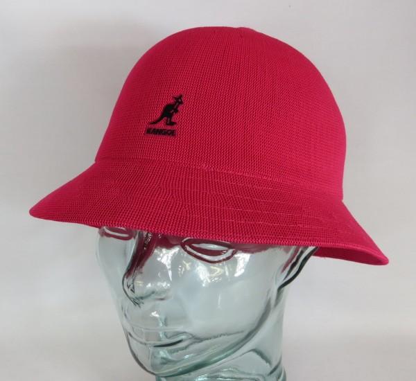 KANGOL TROPIC CASUAL Hut Bucket Hat Bobby fuchsia Mütze Sommerhut NEU