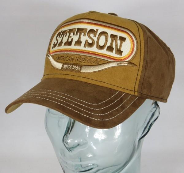 STETSON Trucker Cap Basecap Käppi Kappe Baseball Mütze SNAPBACK Buffalo Horn 7756101 NEU