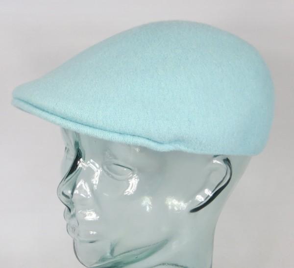 KANGOL Wool 507 SEAMLESS Flatcap blue tint Wolle Mütze Cap Gatsby Kangolcap NEU
