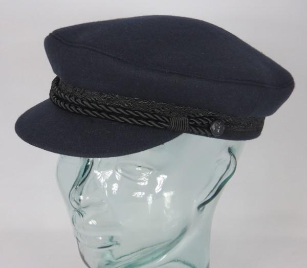 HAMMABURG Elbsegler Mütze Tuch Schiffermütze Marinemütze blau marine NEU