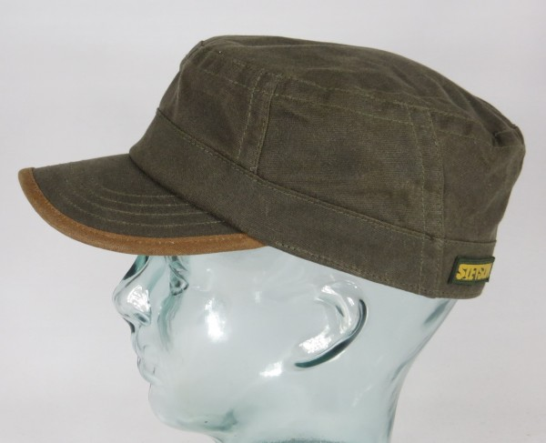 STETSON Army Cap Waxed Cotton Outdoor Mütze gewachst Armee Kuba 7431111 Neu