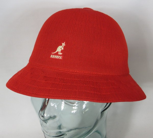 KANGOL TROPIC CASUAL Hut Bucket Hat Bobby rot Mütze Sommerhut NEU