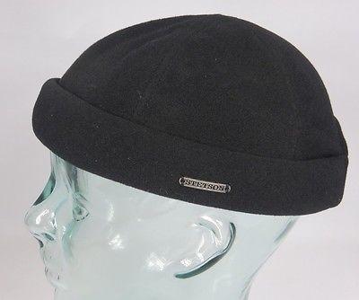 STETSON VANGORDON Dockermütze Skullcap Docker Mütze Cap Wintermütze schwarz NEU