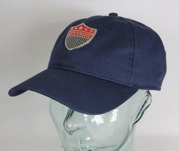 STETSON Baseball Cap Basecap Kappe Mütze blau Baumwolle Trucker 7721105 NEU