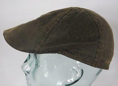 STETSON LEVEL Flatcap Mütze Ivy Cap Schiebermütze braun Sportmütze Kappe NEU